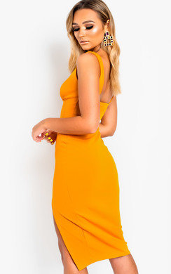 View the Ciara Bodycon Midi Dress online at iKrush