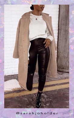 View the CiCi Wet Look High Waisted Skinny Jeans online at iKrush