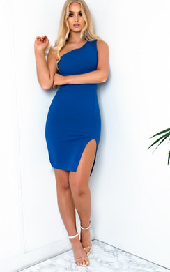 View the Cindy One Shoulder Bodycon Dress online at iKrush