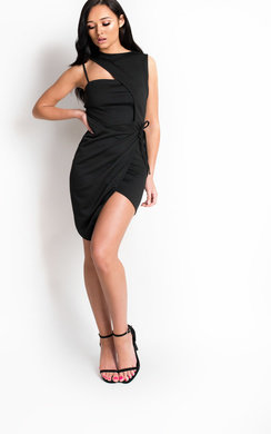 View the Clara Bodycon Wrap Dress online at iKrush