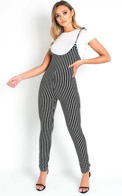 ce5563fb1555 Carissa Sparkly Strappy Bodycon Dress in Black | ikrush