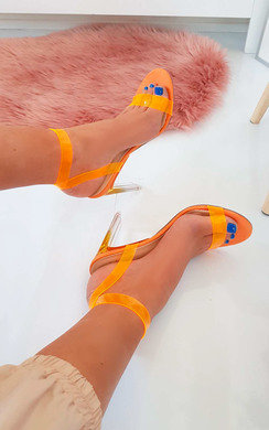 View the Connie Barely There Perspex Heels  online at iKrush