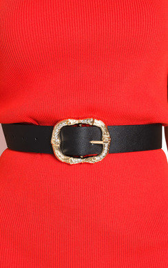 View the Cowan Diamante Detail Buckle Belt online at iKrush