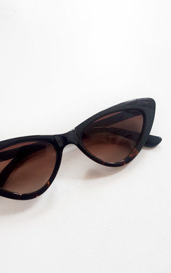 View the Dahlia Tortoiseshell Cat Eye Sunglasses online at iKrush