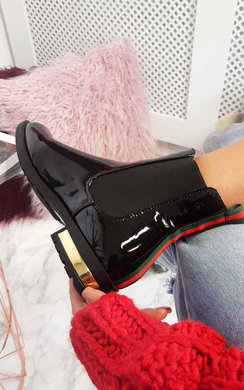 View the Daina Patent Ankle Boots online at iKrush
