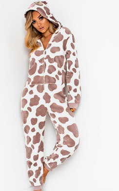 View the Daisy Fluffy Cow Onesie online at iKrush