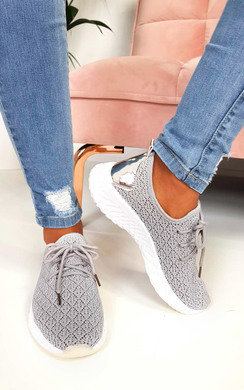 View the Dale Sporty Mesh Trainers online at iKrush