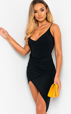View the Dani Slinky Bodycon Dress online at iKrush