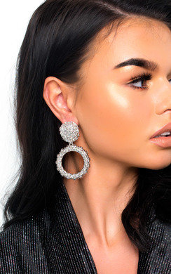 View the Dani Statement Drop Earrings  online at iKrush
