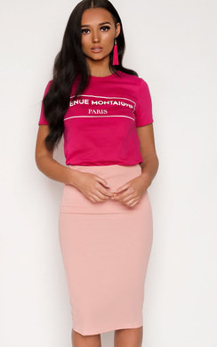 View the Danielle Slogan T-Shirt online at iKrush