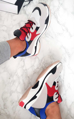 View the Dillon Chunky Colour Block Sport Trainer online at iKrush