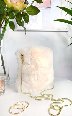 View the Dills Fluffy Shoulder Bag online at iKrush