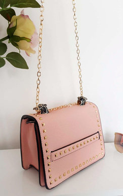 View the Dolli Studded Shoulder Bag online at iKrush