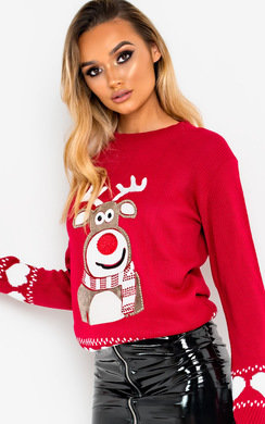 View the Dunder Reindeer Christmas Jumper online at iKrush