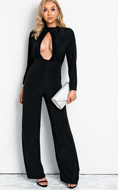 View the Effie Cut Out Wide Leg Jumpsuit online at iKrush