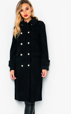 View the Elizabeth Long-Sleeved Winter Coat online at iKrush