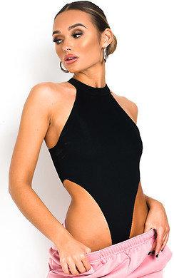 View the Ella Racerback Basic Ribbed Bodysuit online at iKrush