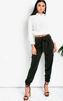 View the Elsbeth Cargo Trousers online at iKrush