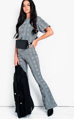 View the Erika Check Co-ord online at iKrush