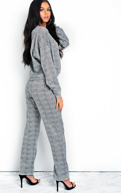 View the Erinna Check Co-ord online at iKrush