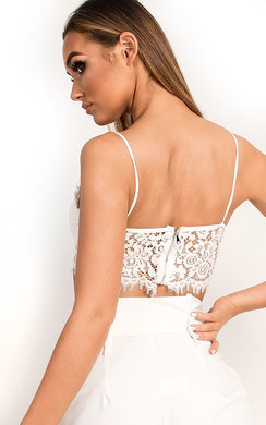 View the Erinna Lace Bralet Top online at iKrush