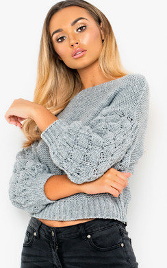 View the Everli Chunky Knitted Jumper online at iKrush