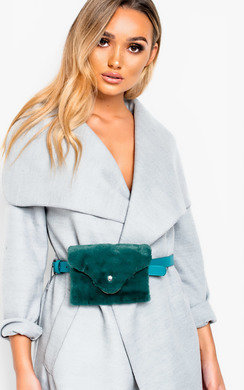 View the Evie Faux Fur Belt Purse  online at iKrush