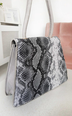 View the Faith Croc Print Shoulder Handbag online at iKrush