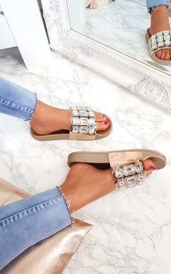 View the Farah Embellished Sliders online at iKrush