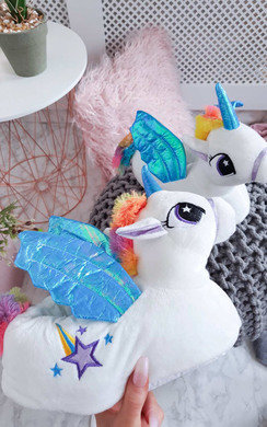 View the Felicity Unicorn Slippers online at iKrush