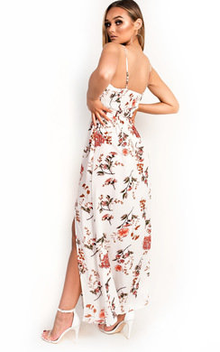 View the Fifi Floral Maxi Dress online at iKrush