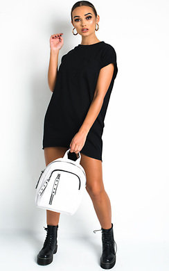 View the Flo Oversized Pocket Top online at iKrush