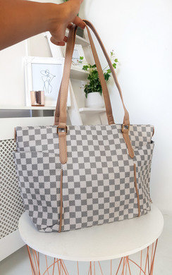 View the Flossie Check Shoulder Bag online at iKrush