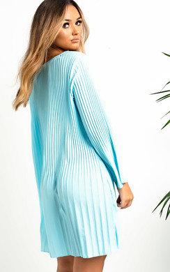 View the Freja Crinkle Flare Shift Dress online at iKrush