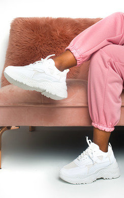 View the Freya Chunky Mesh Trainers online at iKrush