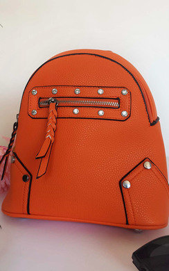View the Frida Faux Leather Mini Backpack Bag online at iKrush