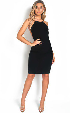 View the Gabz Backless Bodycon Midi Dress online at iKrush