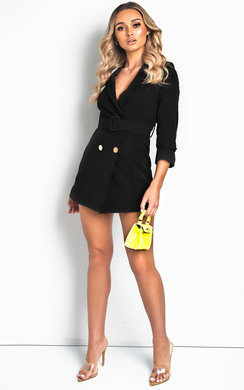 View the Georgia Belted Blazer Dress online at iKrush