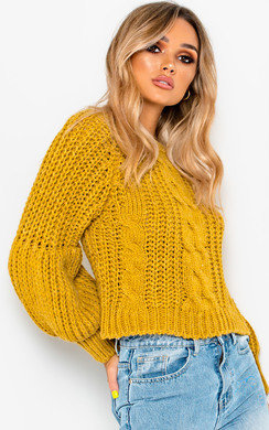 View the Gracie Knitted Jumper online at iKrush