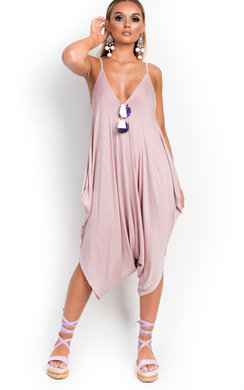 View the Hanna Harem Romper Jumpsuit  online at iKrush