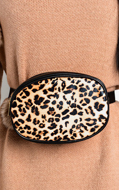 View the Hannah Leopard Belt Bag online at iKrush