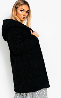 View the Hanni Hooded Teddy Bear Jacket online at iKrush