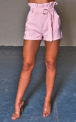 View the Harper High Waist Paperbag Shorts online at iKrush
