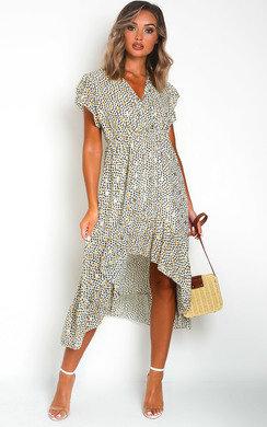 View the Heath Polka Dot Maxi Dress online at iKrush