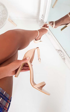 View the Heidi Barely There High Heels  online at iKrush