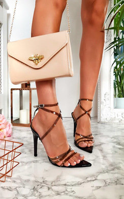 View the Helena Perspex Barely There Heels online at iKrush