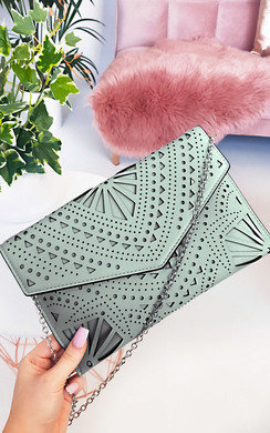 View the Henry Cut out Envelope Clutch Bag online at iKrush