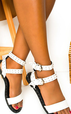 View the Hettie Studded Sandals  online at iKrush