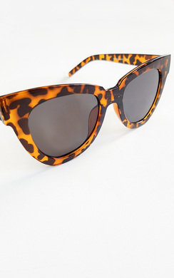 View the Hollie Tortoiseshell Oversized Sunglasses online at iKrush