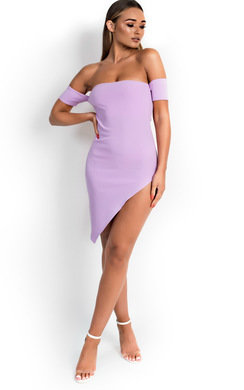 View the Holly Asymmetric Bodycon Dress  online at iKrush